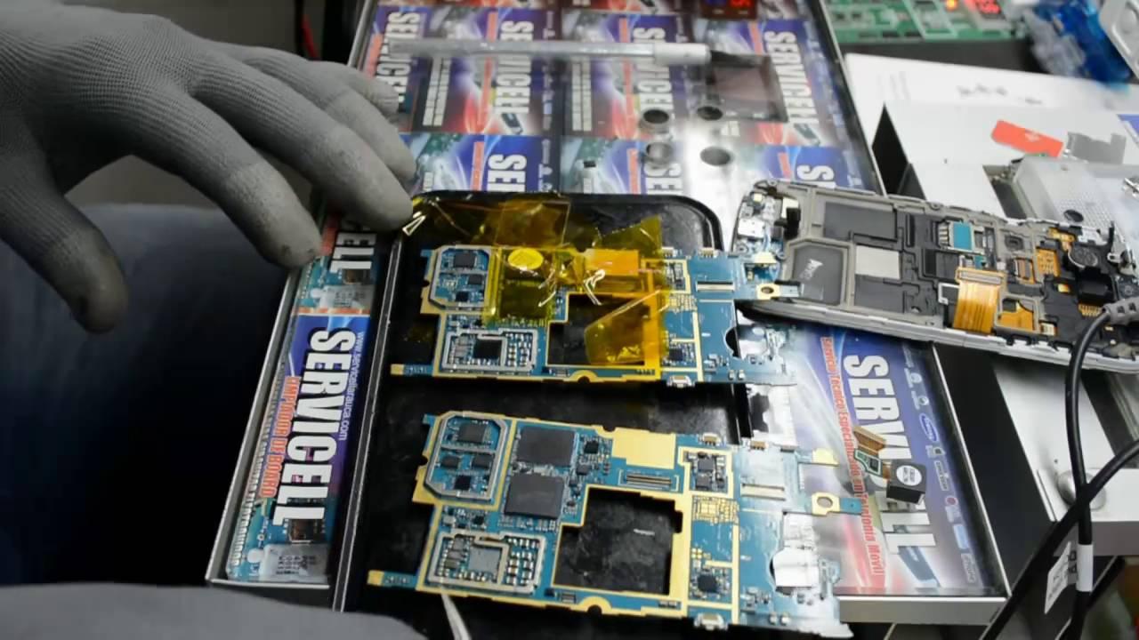 Smartphone Samsung Galaxy S4 Mini Gt I9192: Reparación Samsung Galaxy S4 Mini Duos GT-i9192 No Carga Y