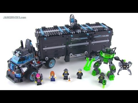 LEGO Ultra Agents 70165 Mission HQ set review! Summer 2014