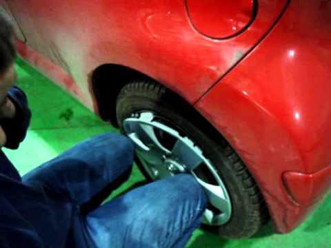 Toyota Aygo Wheel Trim Fitting
