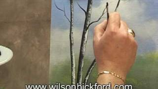 Oil Painting Lesson - Wilson Bickford - Birch Trees