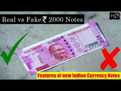 15 Features of New Rs. 2000 Currency Note You Must Know  Secrets of New Indian Rs. 2000 Notes  