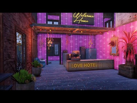 Fallout 76 player builds deadly love hotel trap