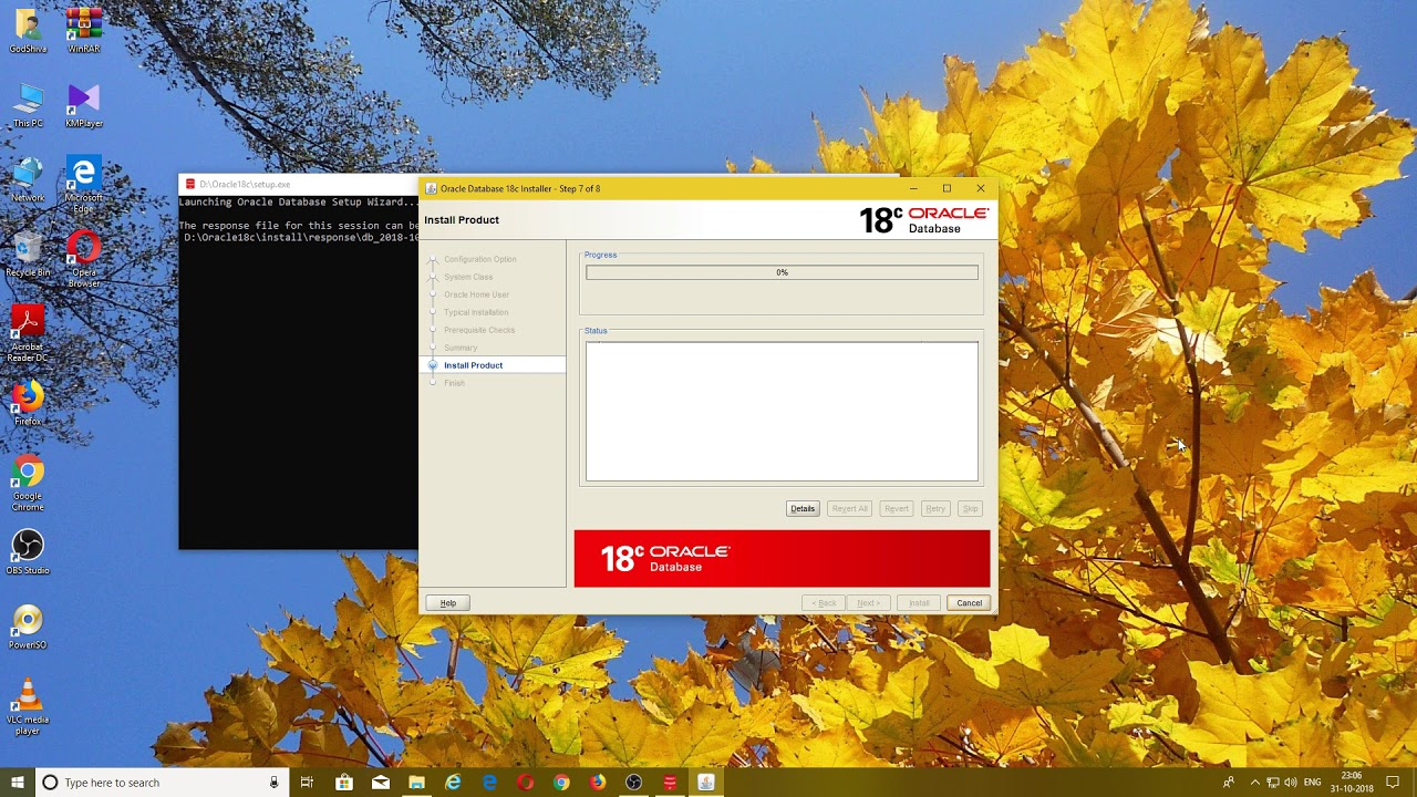 How to install Oracle 18c on Windows 10 and Unlock HR Schema(Hindi)