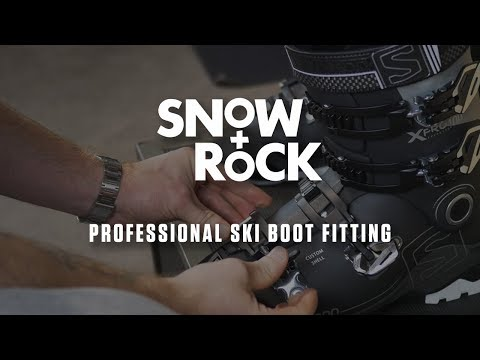 Professional Custom Ski Boot Fitting At Snow+Rock