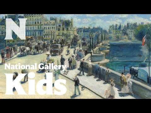 Pont Neuf, Paris, 1872, Auguste Renoir
