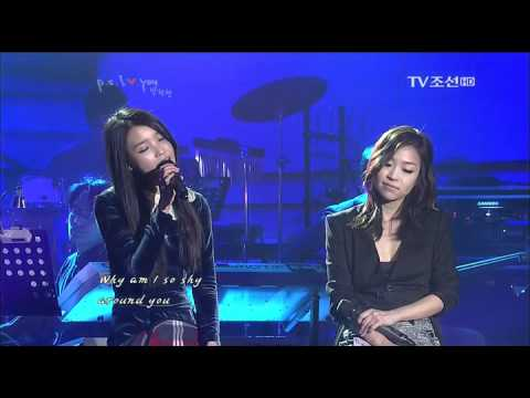 111221 P.S. I LOVE YOU 박정현.IU - Another Rainy Day (Corrine Bailey Rae)