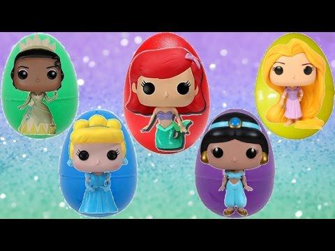 Opening Princess Funko Pop Figures with Ariel & Rapunzel