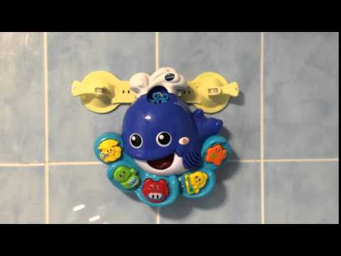 VTECH Bath Time Bubbles Whale, Bath Toy