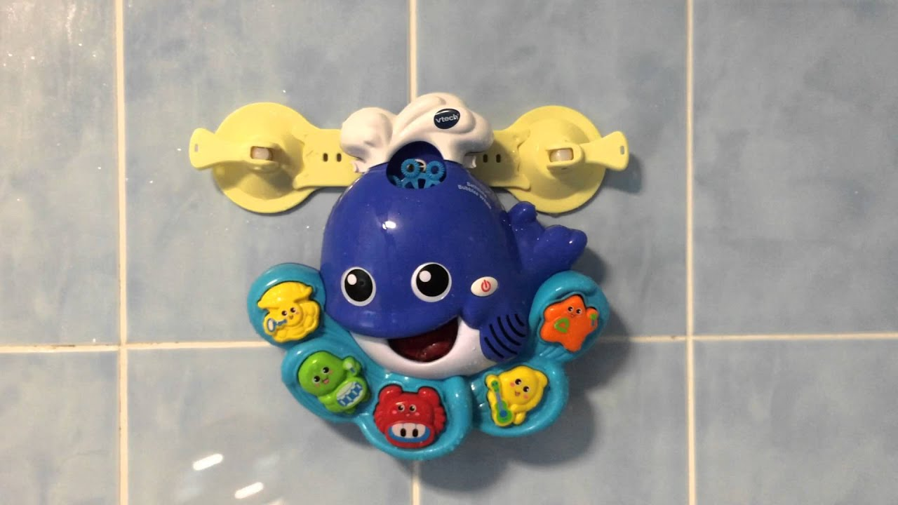 VTECH Bath Time Bubbles Whale, Bath Toy - YouTube