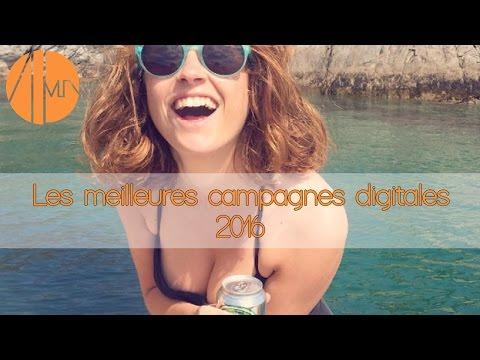 Les Meilleures Campagnes Digitales 2016 !