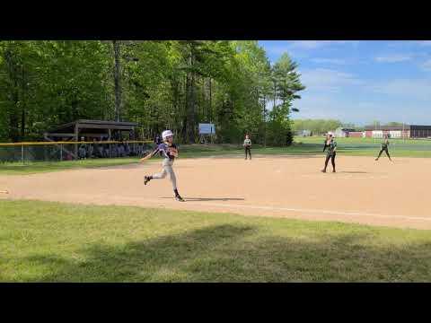 Nobleboro at Medomak Middle School softball