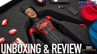 1//6 Spider-Man Miles Morales Figure USA Young Rich Toys Hot Spider Verse