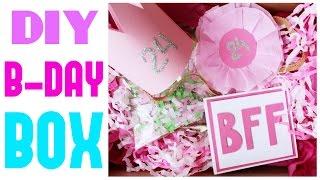 B-DAY BOX * ДЕНЬ РОЖДЕНИЯ в КОРОБКЕ!!  * Подарок для лучшей подруги * Bubenitta(Эта коробочка будет отличным подарком не только для лучшей подруги, но и для другого близкого человека,..., 2016-03-17T15:36:49.000Z)