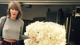Taylor Swift Gets Flowers From Kanye West - New 2020 Running Mate?