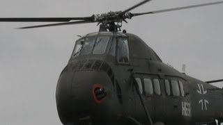 sikorsky s58 original sound [ TOPVIDEO ] H - 34