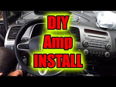 how to connect amplifier in car diy step by step how to connect amplifier in car diy step by step