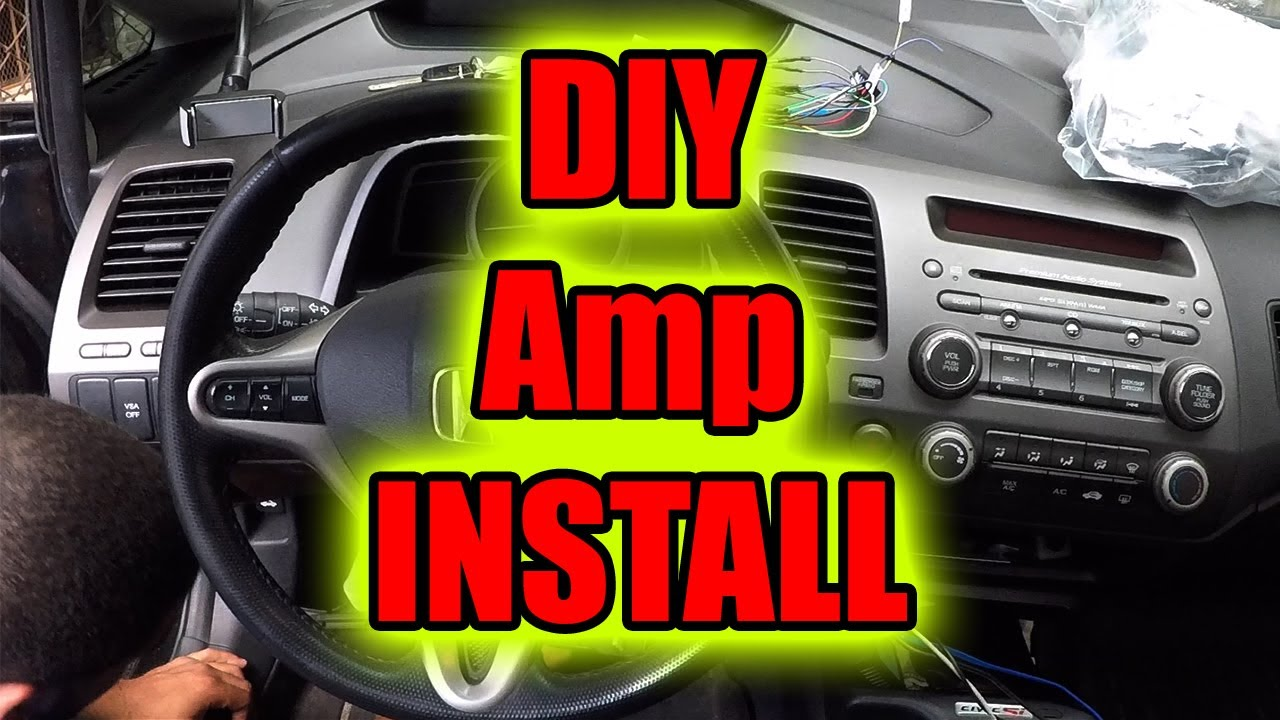How To Connect Amplifier In Car DIYStep By Step YouTube – Jensen A220 Amplifier Wiring Diagram