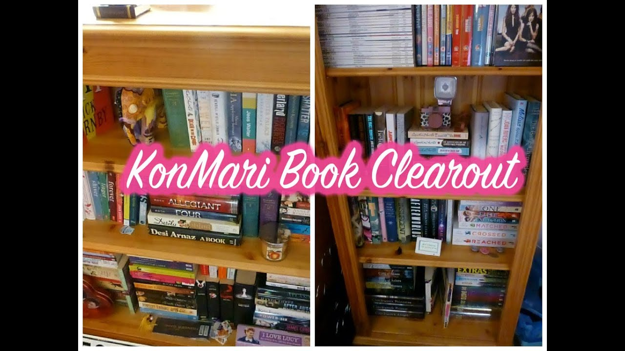 KonMari Book Clear Out