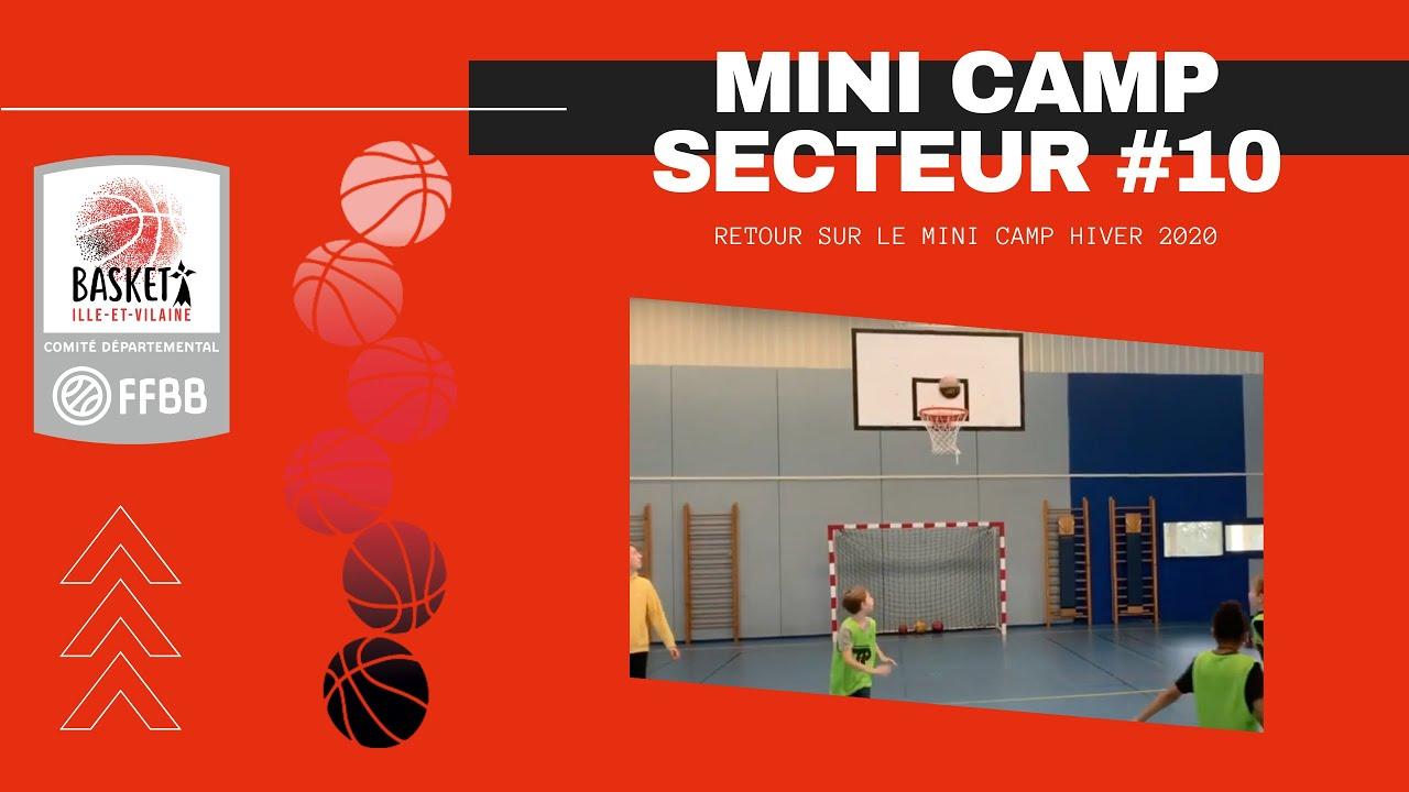 🏀 MINI CAMP #SECTUR10 #HIVER2020