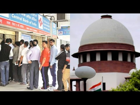 Demonetisation: Supreme Court Refuses To Stay Proceedings
