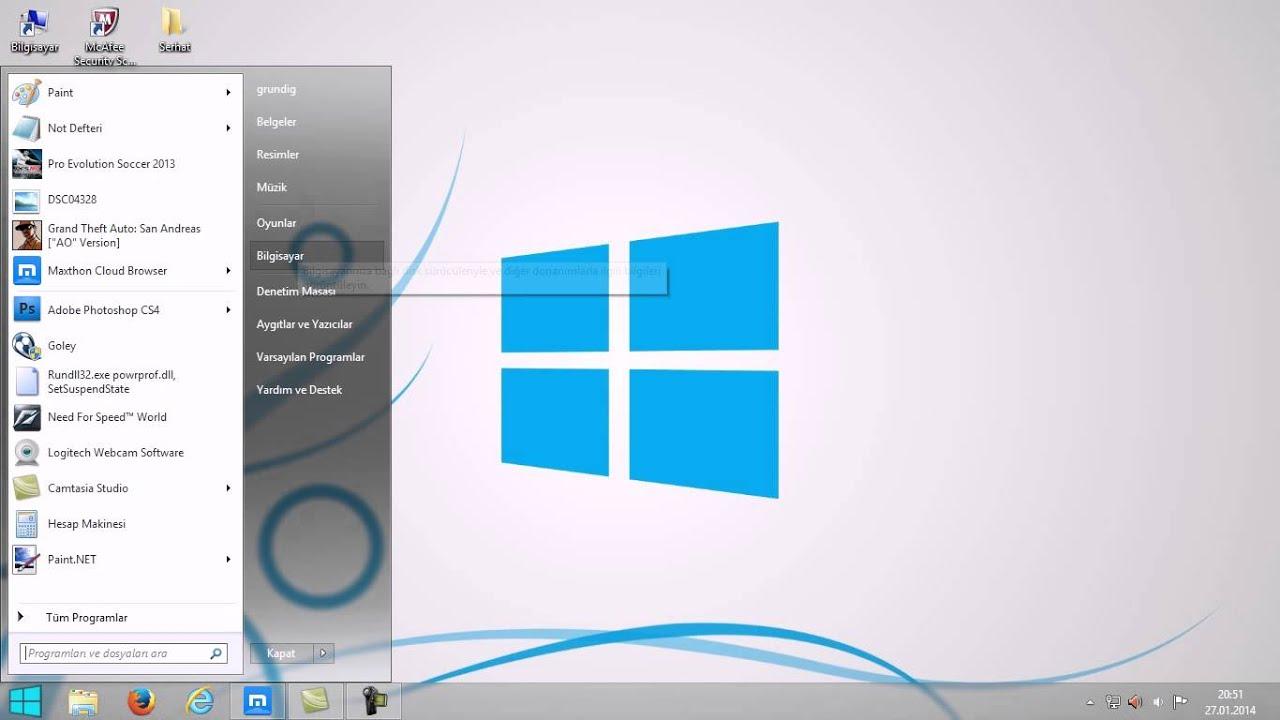 <b>Windows</b> <b>7</b> - <b>8</b>.1 Sürümüne <b>Yükseltme</b> | Fatih Sarıtaş