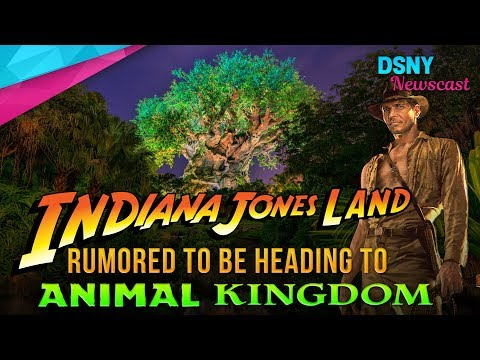 Rumors Suggest Indiana Jones Land Might Be Coming to Disney's Animal Kingdom - Disney News - 8/15/17
