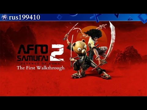 Afro Samurai 2: Revenge of Kuma Volume One (The First Walkthrough) Live show from rus199410 [PS4]