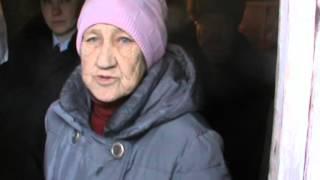 Пенсионерка убила собутыльника. Место происшествия 21.01.2016