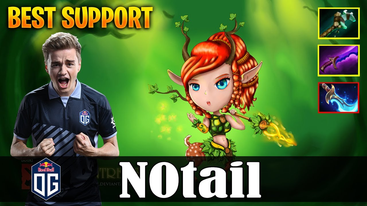 N0tail Enchantress Roaming Best Support Dota 2 Pro Mmr Gameplay Youtube