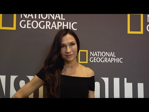 Famke Janssen at National Geographic's America Inside Out New York Premiere