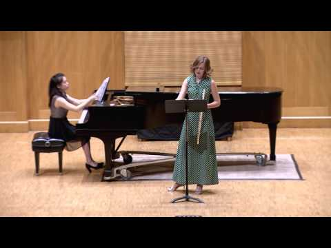 Sonata for flute and piano - Eugénie Rocherolle (b. 1939)