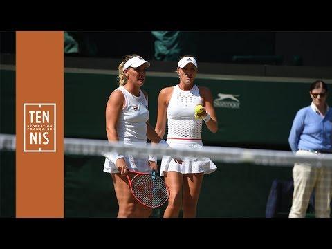 Wimbledon 2019 : Mladenovic s'arrête en demies du double | FFT