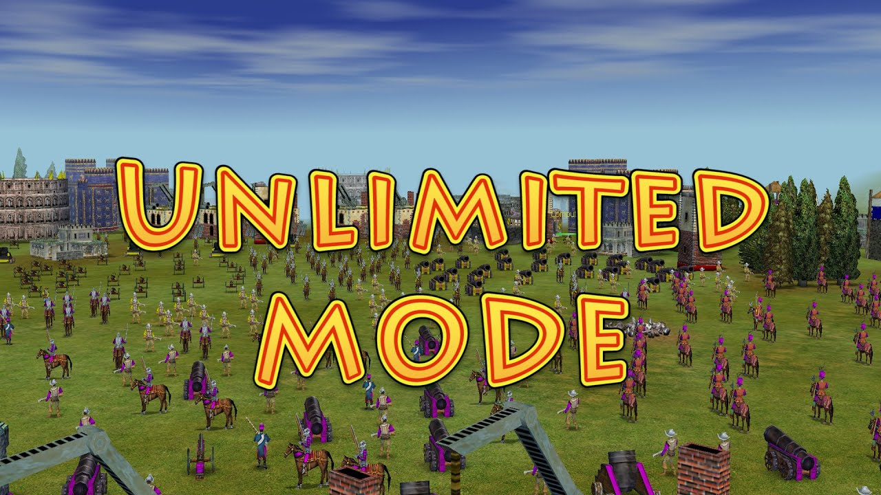 Empire Earth Unlimited Mode Youtube
