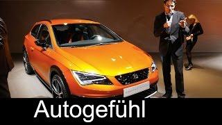 Seat Leon Cross Sport Concept REVIEW Geneva motor show