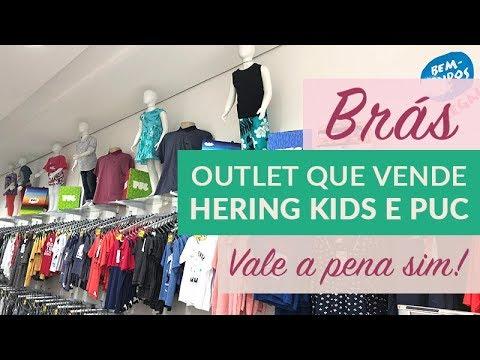 9be211d470d19 Outlet no Brás com marcas Hering Kids e Puc! #superdica - YouTube