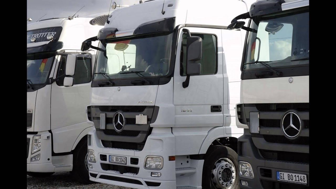 mercedes benz actros mp3 1844 ls 4x2 top wersja youtube. Black Bedroom Furniture Sets. Home Design Ideas