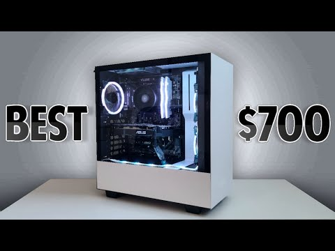 BEST $700 Streaming/Gaming PC [Build Tutorial]