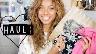 Haul! | Brandy Melville, Topshop, H&M Home & Books! Thumbnail