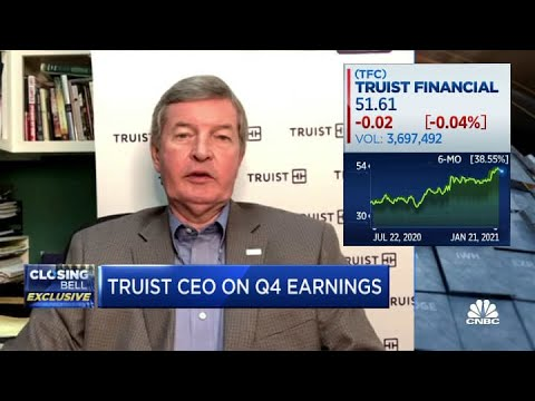 Truist Financial CEO on earnings: Worst is behind us