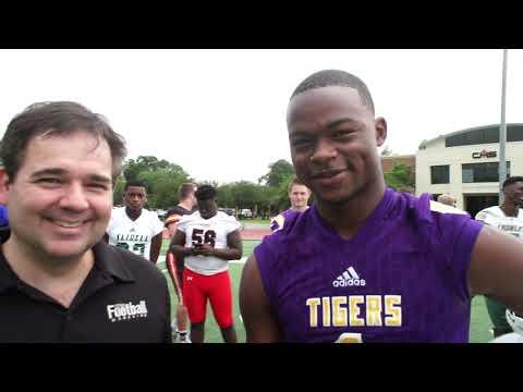 Recruit Video Interview: LSU WR Commit Kayshon Boutte, Westgate High School