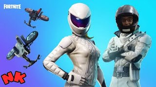 FORTNITE-New master skins of plugled and Delta wing Tormenta/Cyclone.