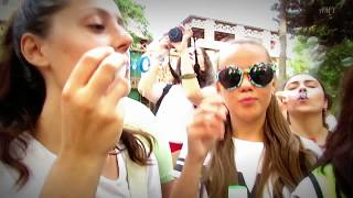 24.07.16. Baku. Flashmob Azerbaijan. Soap Bubbles. Report version.