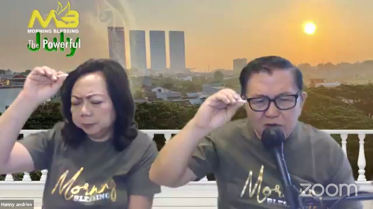 Download MORNING BLESSING | GBI Tabgha | 28.07.2021 | Ps. Hanny Andries
