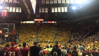 Maryland student flash mob vs. Wisconsin