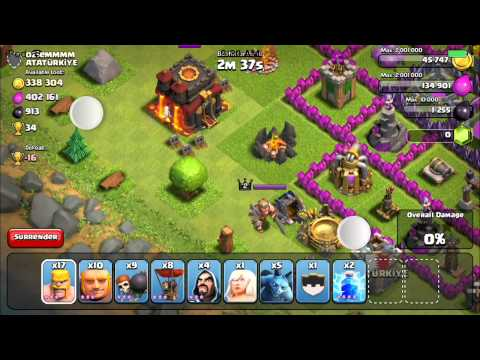 How To: Destroy The Barbarian King With Limited Troops