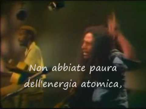 BOB MARLEY REDEMPTION SONG (ITA)