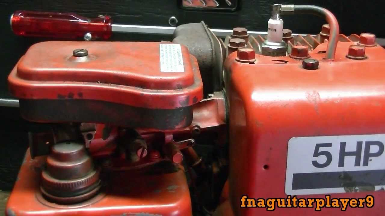 medium resolution of new engine 5 horse briggs and stratton horizontal shaft side shaft model 13 youtube