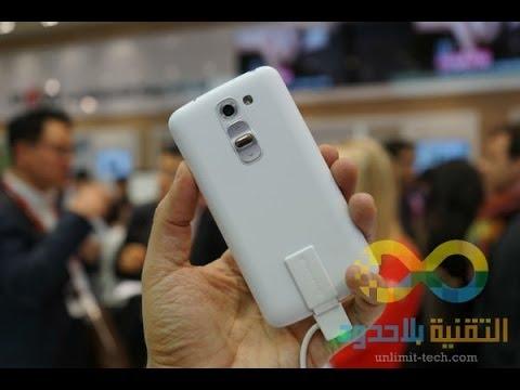نظرة على الهاتف المحمول LG G2 mini