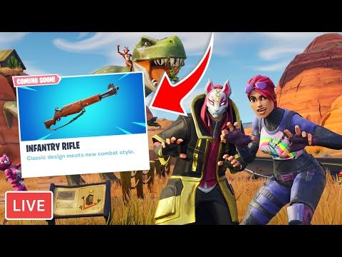 *NEW* INFANTRY RIFLE IN FORTNITE?! - Royalistiq Fortnite Livestream (Nederlands) thumbnail
