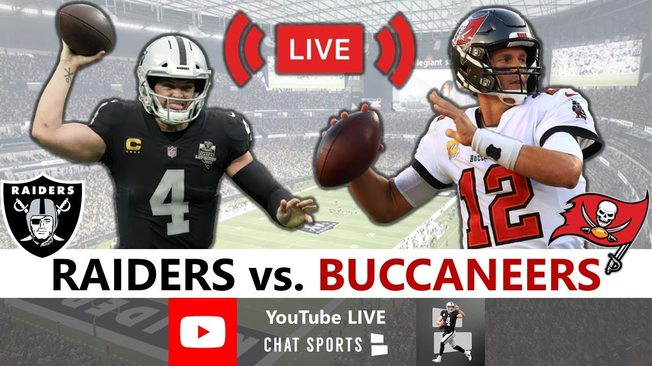 Raiders Lose 45-20 To Bucs: Live Reaction, Derek Carr, Tom Brady, Highlights, Analysis   NFL Week 7 - download from YouTube for free
